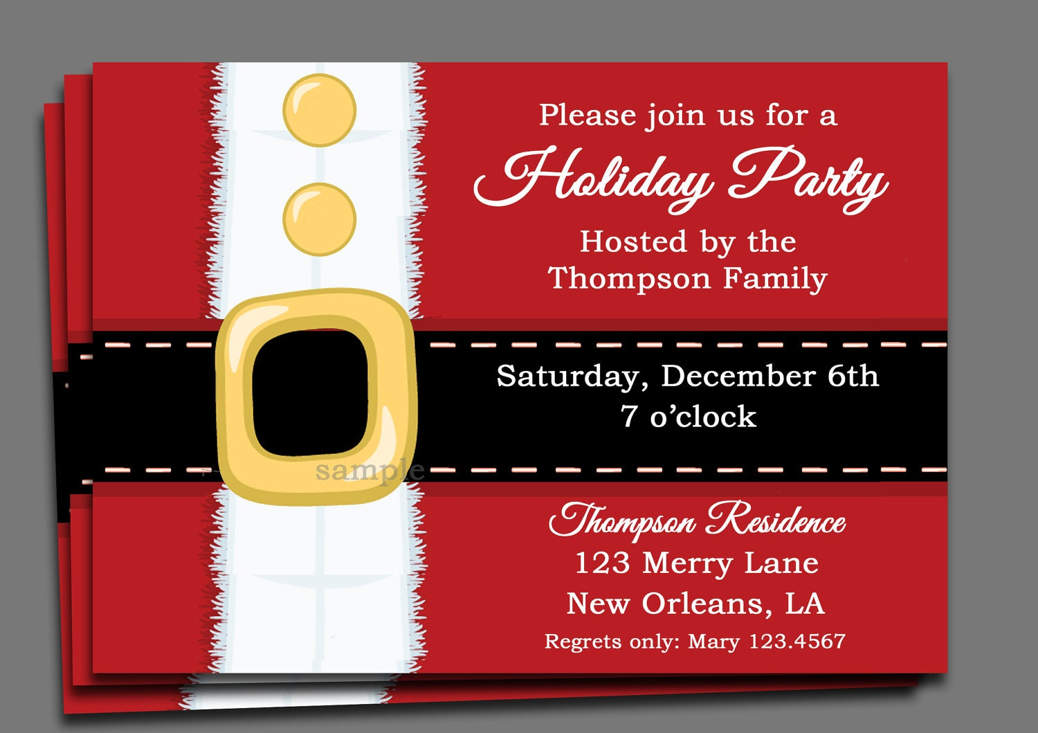 🔎zoom  Free Xmas Invitations