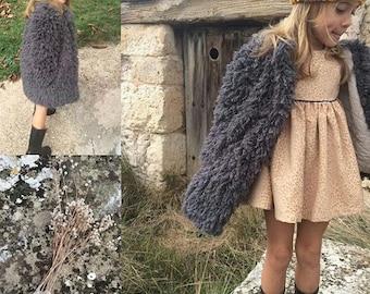 Little jacket for toddler gir, Coat toddler girl , Toddler girl jacket Jacket, Little Girl jacket, Winter Jacket, Colour grey, Toddler coat