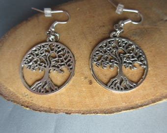 Earrings Tree of Life, free shipping