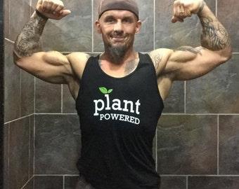 "Unisex ""Plant Powered"" Tank Top"