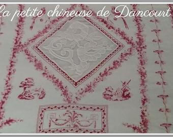 Piece of fabric Coquecigrues Margot