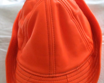 Bright Orange Medium Hunting Hat