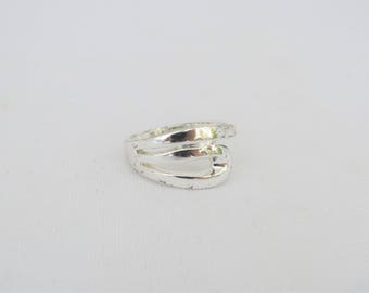 Vintage Sterling Silver Band Ring Size 10