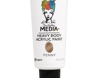 Dina Wakley Media Heavy Body Acrylic Paints - PENNY