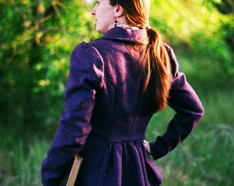 Tweed Riding Jacket---In Your Choice of Colors