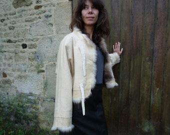 recycled fur Bolero
