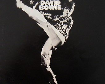 David Bowie - The Man Who Sold The World 70's Vinyl LP IN PLASTIC
