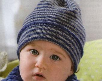 Stripes Baby Beanie