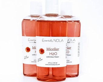 Rose Micellar H20 - Cleanse ~Soothe~ Moisturize~ All in One