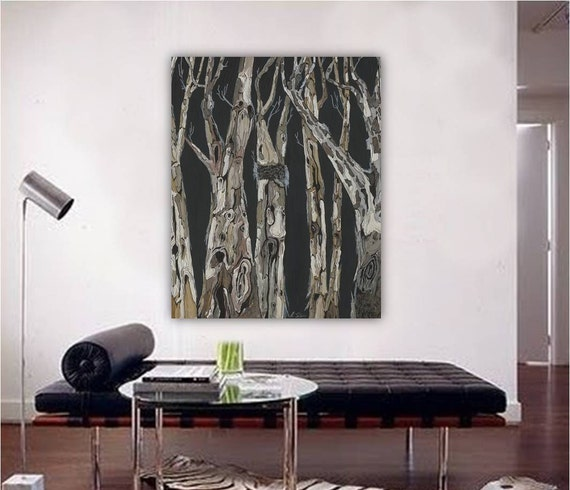 Oversized Masculine Decor Living Room Extra Large Wall Art