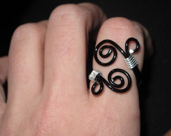 Wire Wrapped Adjustable Ring MADE to ORDER