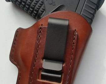 Springfield XDS  Leather Holster (Inside the Waistband)