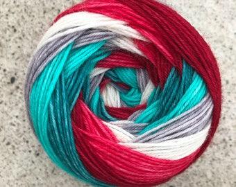Self Striping Sock Yarn - Polaris