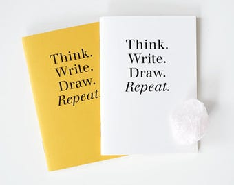 Pocket size Notebook set / 2 colors[Yellow,White] / A set of 2pcs / N-03 / 1687726