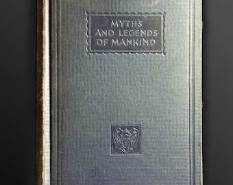 Classic Myth And Legend, A. R. Hope Moncrieff, 1st. Ed., Illustrated, 1934