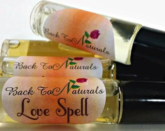 Love Spell Perfume - Jasmine Perfume Oil - Roll On Oil Perfume Bottle .35 oz - Coconut Perfume Oil
