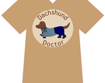 Dachshund Doctor - Veterinary T-Shirt