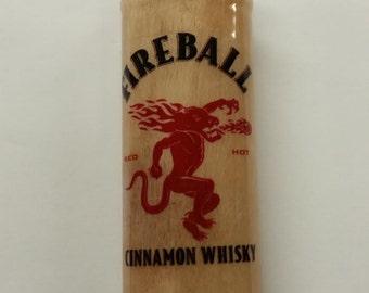 Fireball Cinnamon Whisky BIC Lighter Case Holder Sleeve Cover