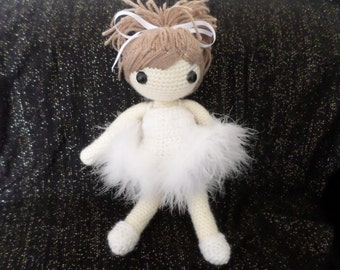 Crochet Doll PDF Pattern. UK Terminology