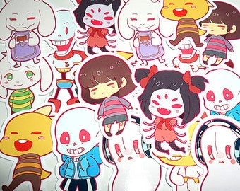UNDERTALE sticker set