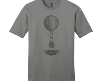 Hot Air Balloon Shirt Science Shirt Science TShirt Gas Laws Mens Shirts Nerdy TShirt Teacher Shirts for Teachers Chemistry Teacher Gifts Fun