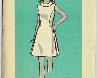 "1960s Vintage Sewing Pattern Ladies' Wrap Dress Mail Order 9451 40"" Bust - Free Pattern Grading E-book Included"