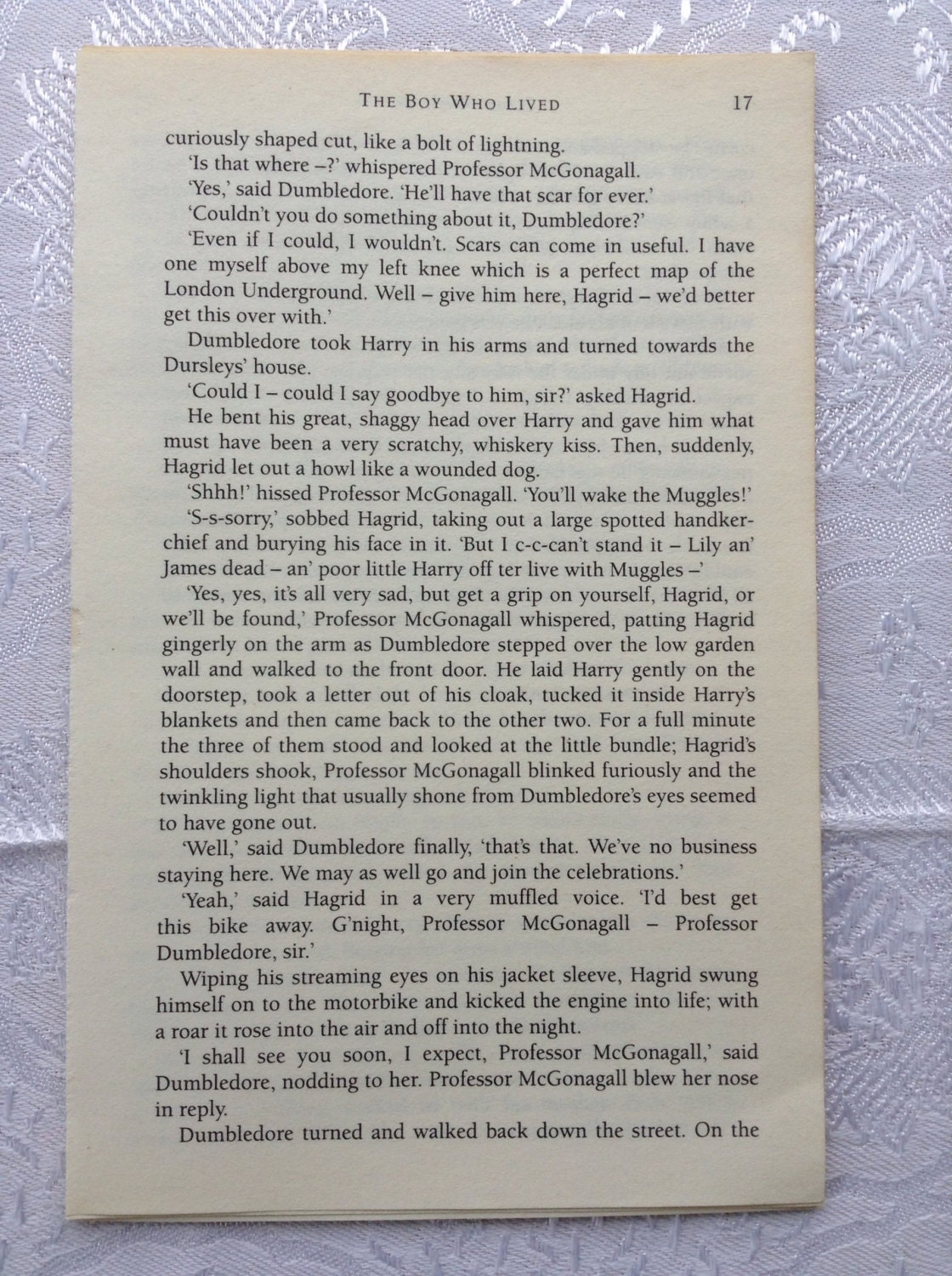 Harry Potter Book Pages ~ Harry potter assorted book pages stone