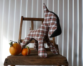 Dog doll Fox terrier for decoration