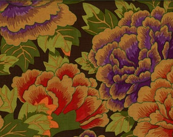 KAFFE FASSETT fabric kimono chrysanthemums