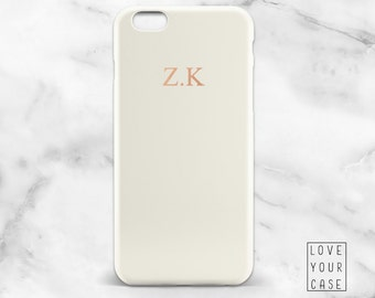 1450 // Monogrammed Name Initial Phone Case iPhone 5 5S 6 6S, Samsung Galaxy S5 S6, Samsung Galaxy S7 Edge Plus