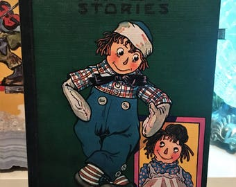 Vintage Children's Book - Raggedy Andy Stories 1960