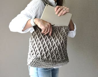 CROCHET PATTERN, The Kiara Bag, Crochet Pattern