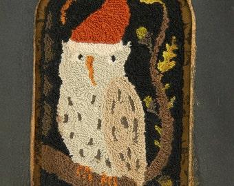 Punch Needle PATTERN - Santa Who? - from Notforgotten Farm