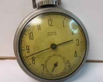 Vintage Westclox Pocket watch for parts or repair