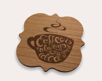 Coffee Coaster 262-143 (Set of 4)