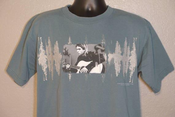 1997 Kurt Cobain - The End of Music Giant Concert Vintage T-Shirt