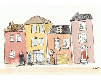 Four Little Houses