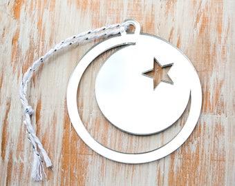 Muslim Tree Ornament, Peace Ornaments, Muslim Christmas Ornament, Ramadan Gift, Gift for muslim mom, Gifts for muslim friend, Islam ornament