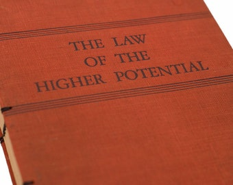 1947 HIGHER POTENTIAL Vintage Notebook Journal