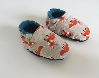 Baby/Toddler shoe, slipper, shoe, anti slip, Todler Fox Fox