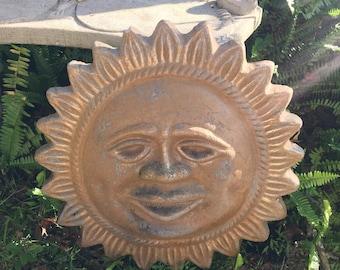 Garden Goddess, Sundial, Yard Art, Reto Vintage