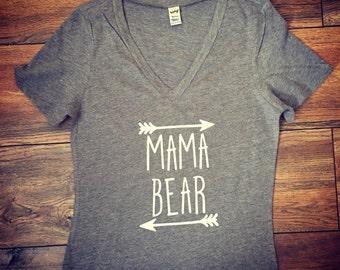 Mama Bear shirt|Papa Bear|Baby Bear|Auntie Bear tshirt|Mothers Day Gift