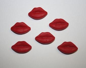 Fondant Lips