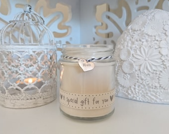 Mum (a special gift for you) Scented Soy Candle
