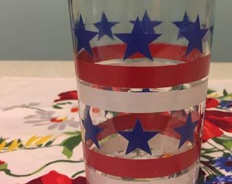 SALE Stars & Stripes Pint Glass
