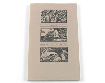 Vintage 1984 Artist Book Moon: Poems by David Romtvedt with Illustrations by R W Scholes Poetry Book
