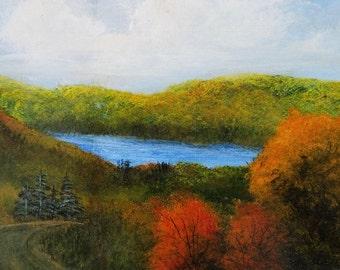 Lake Nantahala (early autumn)