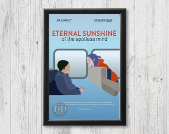 Eternal Sunshine of the Spotless Mind Poster/Jim Carrey/Kate Winslet/Movie Poster