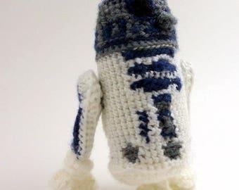R2-D2 (Star Wars) - Handmade crochet original design doll