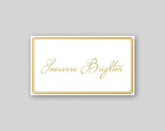 printable place card template gold place cards wedding place
